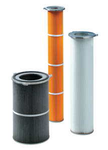 Filter Cartridges Ø 150, 214, 327 mm with 3 Lug Flange
